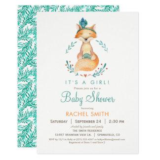 Inbjudan för baby shower för kricka- och