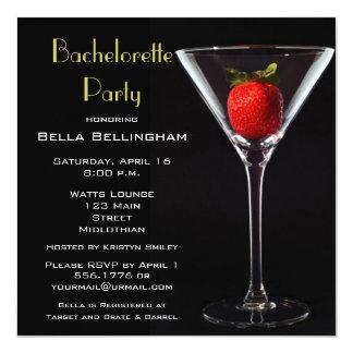 Inbjudan för Bachelorette partyMartini