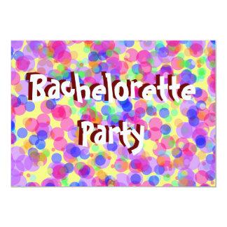 Inbjudan för Bachelorette rosaparty