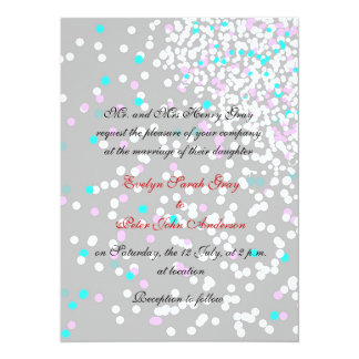 Inbjudan för bröllop för för duvagrå