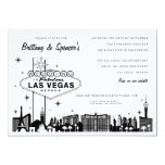 Inbjudan för bröllop för Las Vegas remsa | Las