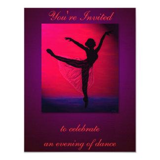 Inbjudan för danshögläsninganpassningsbar