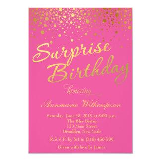 Inbjudan för födelsedag för