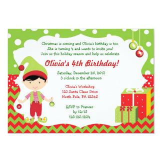 Inbjudan för födelsedag för älva för