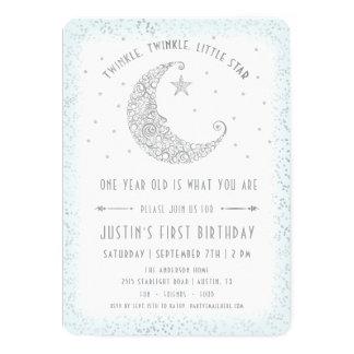 Inbjudan för födelsedag för stjärngosse för