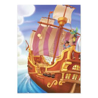 Inbjudan för frakt för pirat för Gnome för