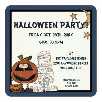 Inbjudan för halloween fest för