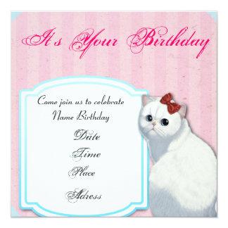 Inbjudan för hejkattungefödelsedag