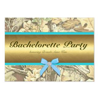 Inbjudan för jaktCamo Bachelorette party