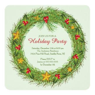 Inbjudan för julkranjulfest