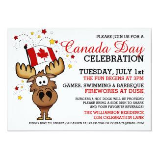 Inbjudan för Kanada dagfirande