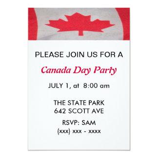 Inbjudan för Kanada dagparty