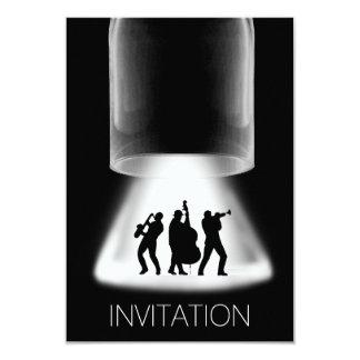 Inbjudan för konsert för MinimalismfestivalJazz