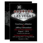 Inbjudan för Las Vegas destinationsbröllop