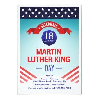 Inbjudan för Martin Luther snäll dagfirande