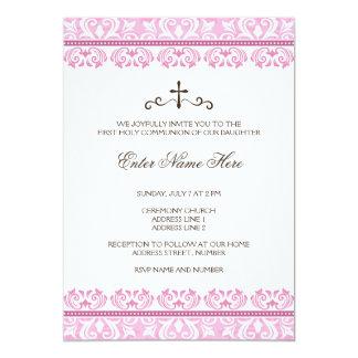 Inbjudan för nattvardsgång för rosasnöreflickor
