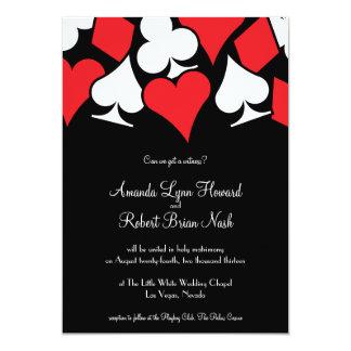 Inbjudan för ödeLas Vegas bröllop