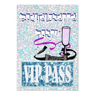 Inbjudan för party för Bachelorette blåttvip