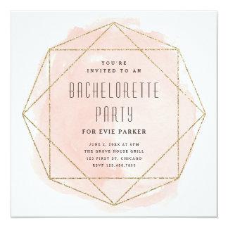 Inbjudan för party för bachelorette för