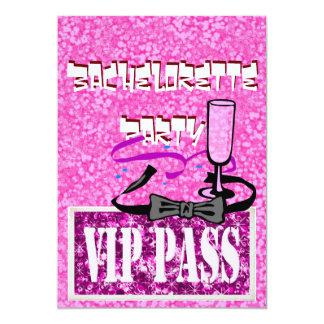 Inbjudan för party för Bachelorette rosavip