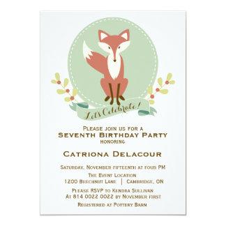 Inbjudan för party för barns födelsedag för