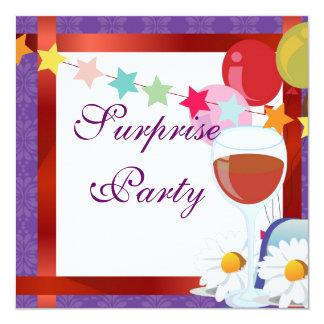 inbjudan för party för coctailballongöverrrakning