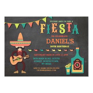 Inbjudan för party för födelsedagFiestaMexico