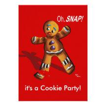 Inbjudan för party för kakaSwapjul