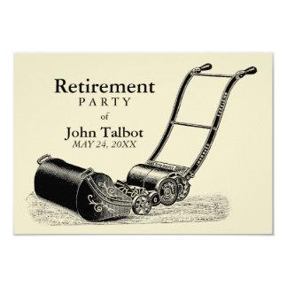 Inbjudan för party för pension för