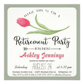 Inbjudan för party för rosa- och