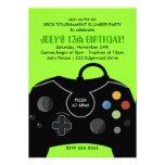 Inbjudan för party för station för POJKEfödelsedag