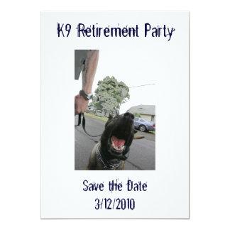 Inbjudan för pension K9