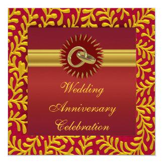 Inbjudan för personligbröllopsdagparty