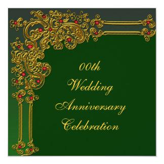 Inbjudan för personligt bröllpårsdagparty