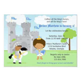 Inbjudan för prince- och riddarebarns