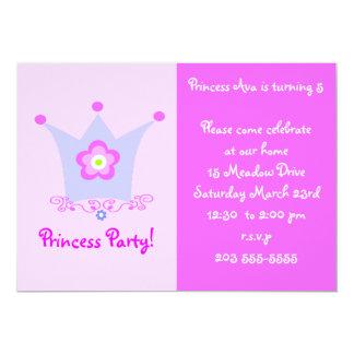 Inbjudan för Princess Festa