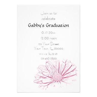 Inbjudan för rosablommastudentfest