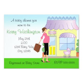 Inbjudan för shoppare för Boutique för baby