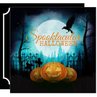 Inbjudan för Spooktacular Halloween dräktparty  