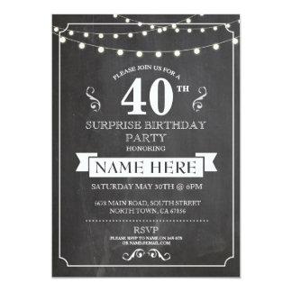 Inbjudan för svart