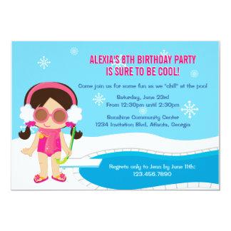Inbjudan för vinterbassängparty