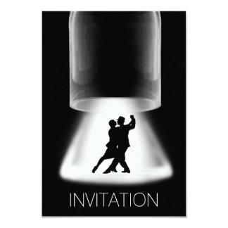 Inbjudan för Vip för latinsk dans för Tango modern