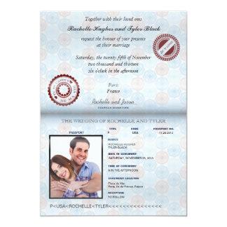 Inbjudan II för bröllop (för framfört)