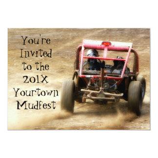 Inbjudan till Mudfest smutsar ner Dunebuggy 4x4