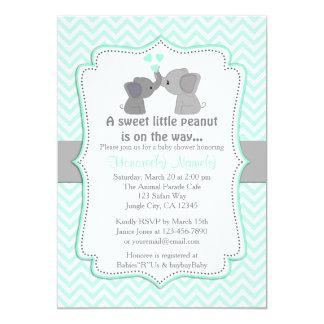 Inbjudningar Chev 330 för baby shower för