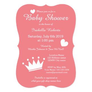 Inbjudningar för baby shower för