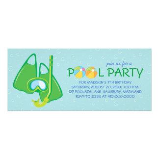 Inbjudningar för barns födelsedagbassängparty
