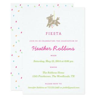 Inbjudningar för FiestaPiñata roliga studentfest