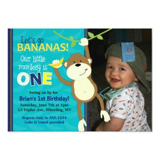 Inbjudningar för foto för födelsedag för