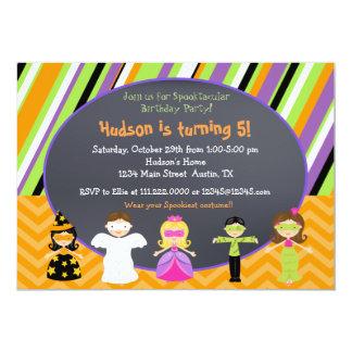 Inbjudningar för Halloween dräktparty